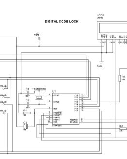 digital code lock circuit
