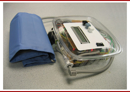 Blood pressure monitor project