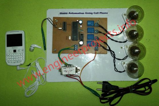 home appliance control using dtmf