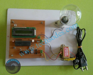 AC Motor Speed Control using IR TV Remote with ZVS