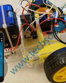 Voice controlled robot car via bluetooth using android and arduino